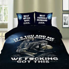 Powerful Skull Bedding Set Quilt Duvet Cover Full Queen King Twin Pillowcase New image