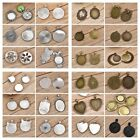 10/20pcs Cabochon Cameo Base Tray Setting Bezel Blank Fit Diy Jewelry Making