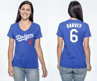 Steve Garvey Los Angeles Dodgers #6 MLB Jersey Style Women's Graphic T on Ebay