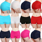 Women High Waist Butt Lift Yoga Shorts Slim Fitness Sport Su