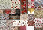 CHRISTMAS TABLE CLOTHS PVC PLASTIC OIL VINYL TABLE WARE PLAIN PRINTED WIPE CLEAN