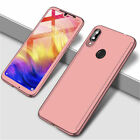 360° Full Cover Case + Tempered Glass Huawei P30 P20 Lite Mate 10 20 30 Lite Y9