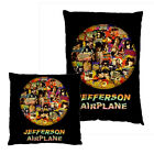 NEW HOME DECOR PILLOW CUSHION CASE Jefferson Airplane 70s
