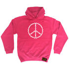 Cycling Hoodie Hoody Funny Novelty hooded Top - Peace Chain