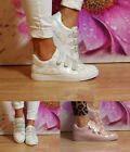 Ladies Womens Chunky Trainers Metallic Animal Print Sneakers Sports Shoes Size