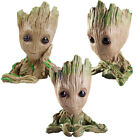 Green Flowerpot Pen Pot Figure Of Guardians of The Galaxy Baby Groot Tree Man