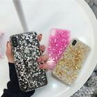 Внешний вид - For iPhone XS MAX XR X 8 7 6s 6 Bling Glitter Foil Slim Soft Silicone Case Cover