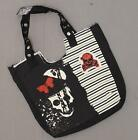 nWT Novelty, Inc. Punk Tote Bag with Embellisment