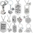 Gift For Mom Dad Best Friends Pendant Chain Necklace Christmas Gift Present Xmas