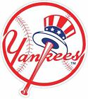 New York Yankees Color Die Cut Decal Car Sticker Cornhole Sizes Free Shipping