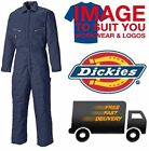 DICKIES LINED BOILER SUIT COVERALLS HEAVY DUTY WORKWEAR WD2360R