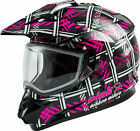 GMAX GM-11S Pink Ribbon Riders Helmet