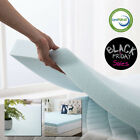 Gel Memory Foam Mattress Topper 2.5 Inch Twin Full Queen King Soft Sleeper Dot image
