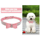 Dog Leash Collar Bow Decoration Animal Comfortable Outdoor Walking for Puppy Cat