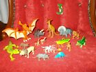 Dinosaur Toys LOT Pre-Historic Animals T-Rex Insects Raptor Horses Small & Large