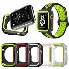 Fitness Sports Silicone Protective Case Cover for Apple Watch Series 4 40mm 44mm image