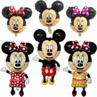 Mickey Minnie Mouse Foil Balloon Happy Birthday Party Decoration 1pc