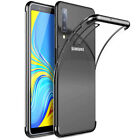 Shockproof Plating Silicone TPU Case Cover for Sasmsung Galaxy A7 2018/J4 J6Plus