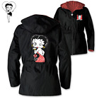 "Bradford Exchange Betty Boop ""With Just A Wink"" Hooded Anorak Jacket $34.99 USD on eBay"