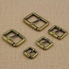 New Buckles Brass Belt Bag Diy Leathercraft High Quality 2pcs Solid