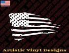 Distressed Worn American Flag Decal Sticker Many Colors And Sizes Free Shipping