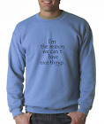 Oneliner crewneck SWEATSHIRT I'm The Reason We Can't Have Nice Things
