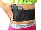 Fits S&W Shield Black Lace Women's Ladies Elastic Belly Band Gun Holster USA