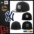 NEWERA New York YANKEES HAT 59FIFTY Fitted Caps MLB Field Hats NAVY BLACK WHITE on Ebay