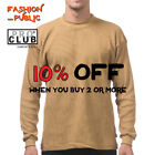 PROCLUB PRO CLUB MENS HEAVYWEIGHT THERMAL LONG SLEEVE T SHIRT CASUAL WAFFLE TEE