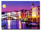 5D DIY Diamond Painting Venice Scenery  Full Cover, Square Tile #09