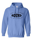 hooded Sweatshirt Hoodie I'm In Shape Round Is A Shape Weight Exercise