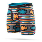 "Stance Underwear ""Dixie"" Boxer Brief (Black) Men's Tribal Combed Cotton Boxers"