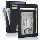 "Best Wallet for Men, Ultra-Compact Pocket Protector with 4.4"" x 3.5"" Mini Size"