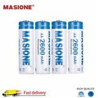 4/16Pack 1.2V NI-MH AA / AAA Rechargeable Battery 2850mAh + Storage Box US Stock