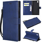 Magnetic Flip Leather Wallet Card Holder Stand Case Cover for Sony Xperia XA3/XZ