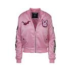 Overwatch New Hana Song D.Va Patches Bomber Jacket