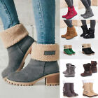 Kyпить Womens Winter Solid Flat Buckle Short Snow Boots Warm Casual Fashion Shoes Size на еВаy.соm