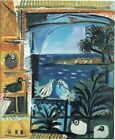 The pigeons 3 Pablo Picasso 1957 Poster Canvas Picture Art Print Premium  A0- A4