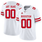 Customized Houston Cougars Stitched Jersey College Football Replica Men's S-3XL