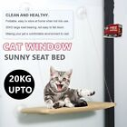NEW Cat Window Bed Swing Sunny Seat Pet Nest Wall Home Hammock Cover TH