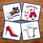 Cover Up Those Feet! - 11 Machine Embroidery Designs