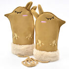 Multi-Color Series Children'S Suede Mittens Cute Baby Ligaments Warm Gloves DT