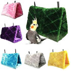 Bird Parrots Plush Hammock Cage Snuggle Happy Hut Tent Bed Bunk Toy Hanging~Cave