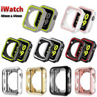 iWatch Silicone Protective Case Bumper Cover For Apple Watch Series 4 40mm 44mm image