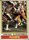 1974 Topps Football Card #50 John Hadl - VG $0.99 USD on eBay