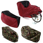 Waterproof Single Double Bicycle Bike Cycle Rain Dust Outdoor Cover Lightweight