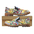New Coming Custom Womens Slip On Loafer Pokemon Shoes Comfy Ladies Casual Flats