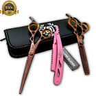 "USA Hair Cutting Japanese Scissors Barber Stylist Salon Shears 6"" Sharp TIJERAS $48.99 USD on eBay"