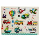 Baby Kid Early educational toys baby hand grasp wooden puzzle toy alphabet and