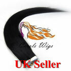 7A Best Quality 14'' Tape-In 100% Russian Remy Human Hair Extensions UK 1st
